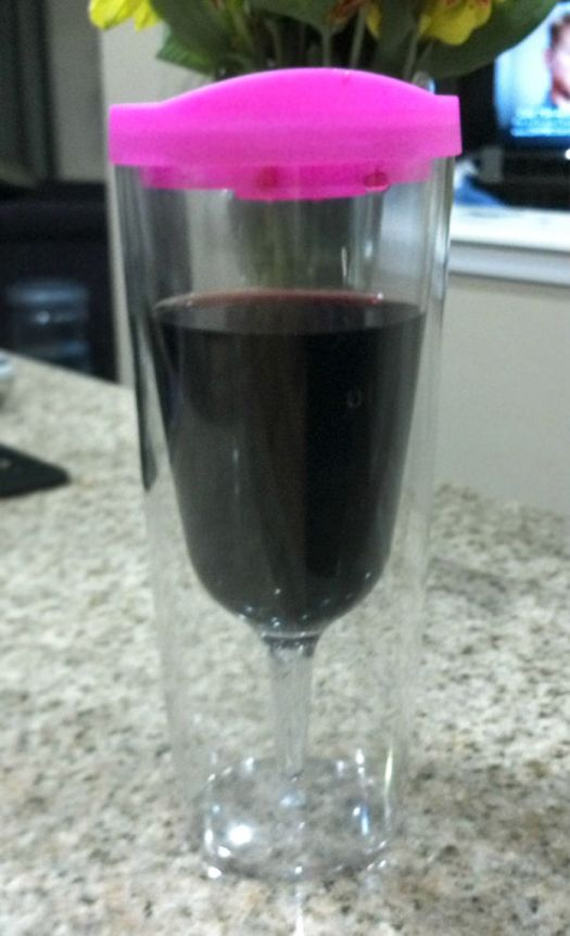 My Husband Got Tired Of Wine Stains Everywhere So He Got Me A Sippy Wine Cup