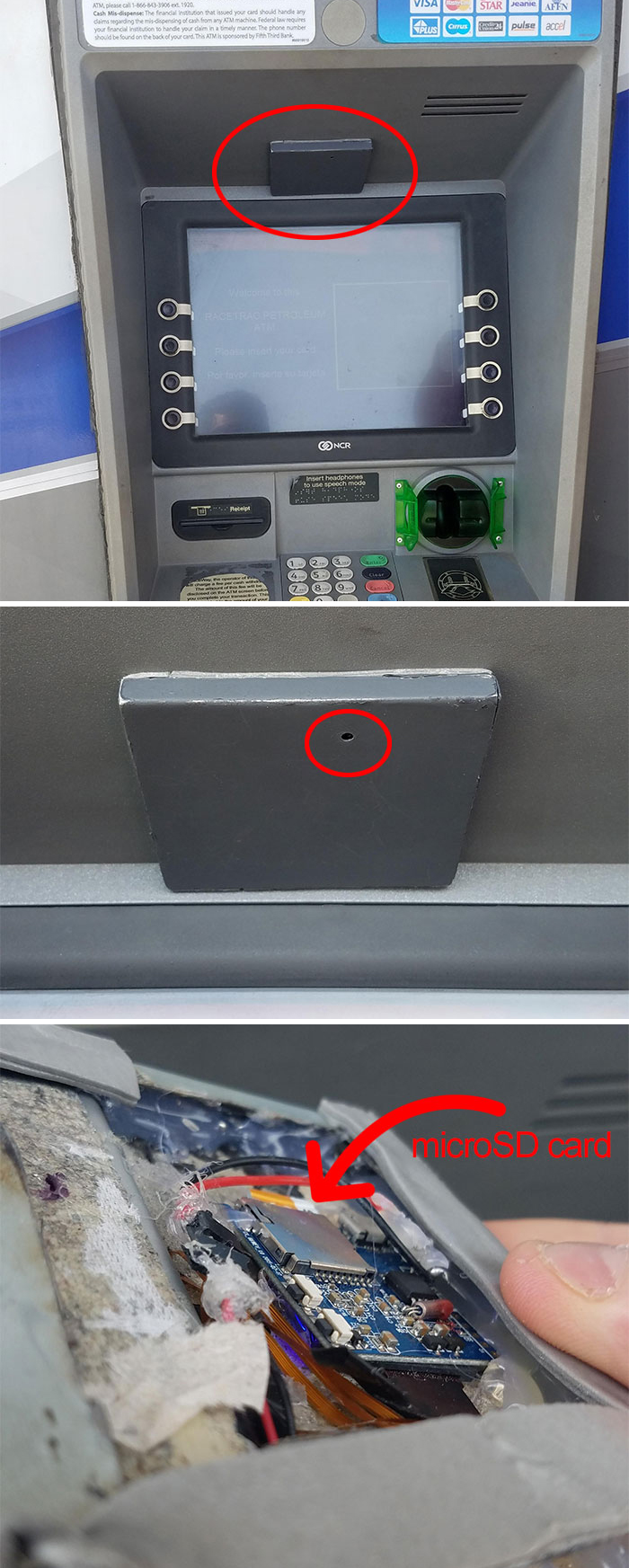 Went To An ATM I Frequently Use In Houston And Notice Something Different... What Is This Grey Box?