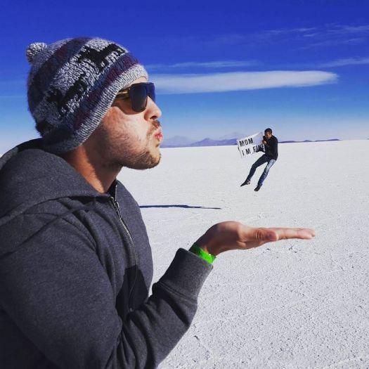 Guy Travels Around The World
