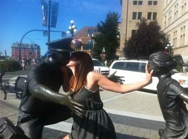 The Navy Statue In My Town Needed Improvement