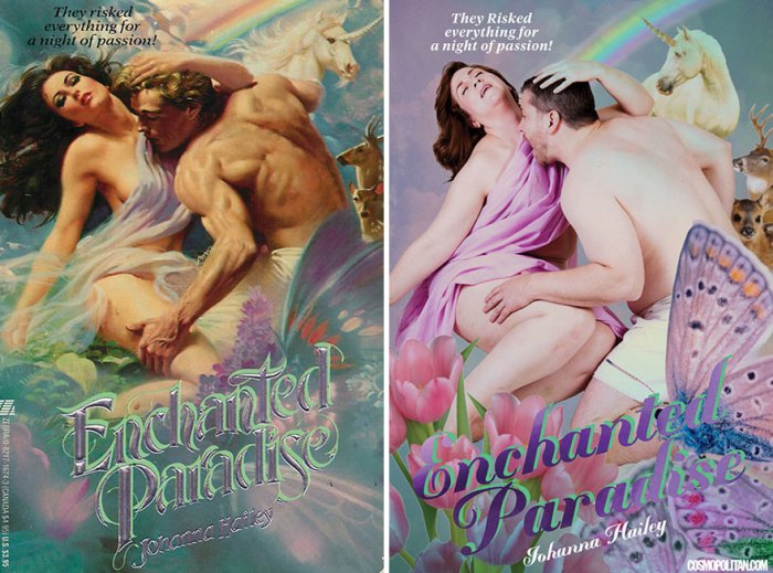 Romance Novel Covers
