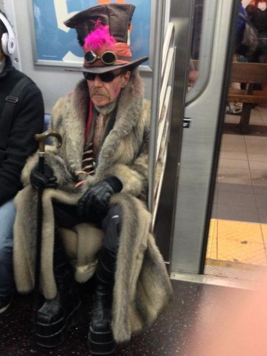 The Joys Of Taking The Subway