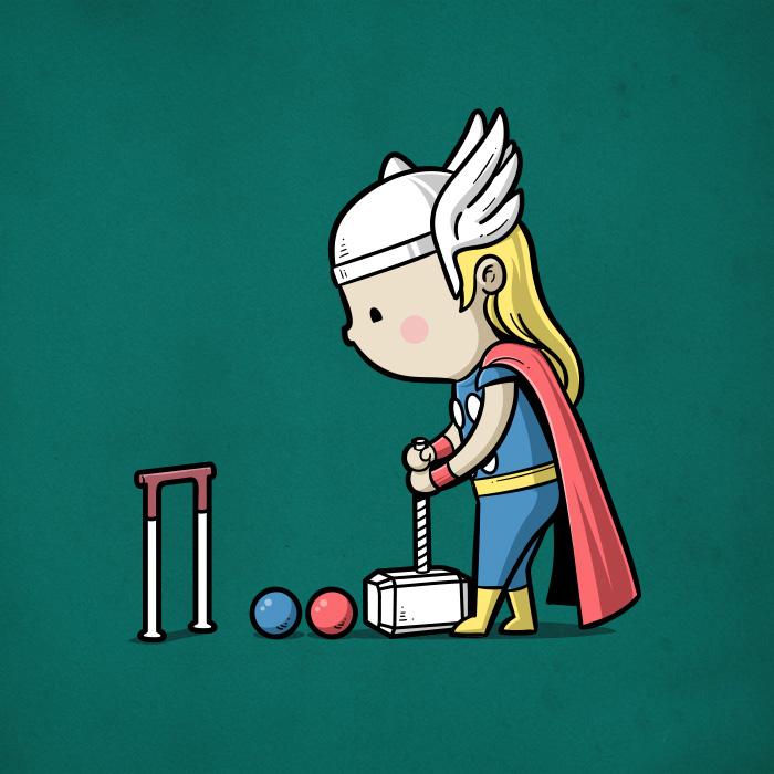 Sporty Thor - Croquet