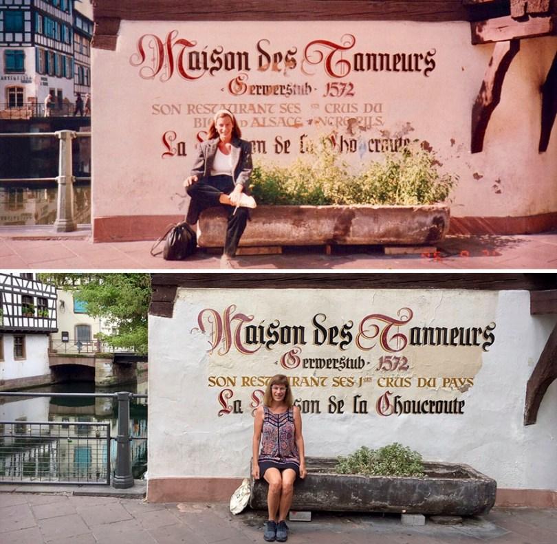 Trinta anos depois, em Estrasburgo, França