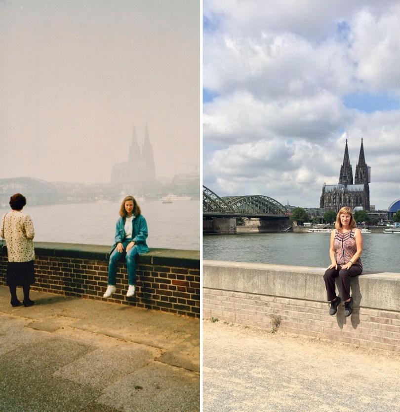 foto no mesmo lugar
