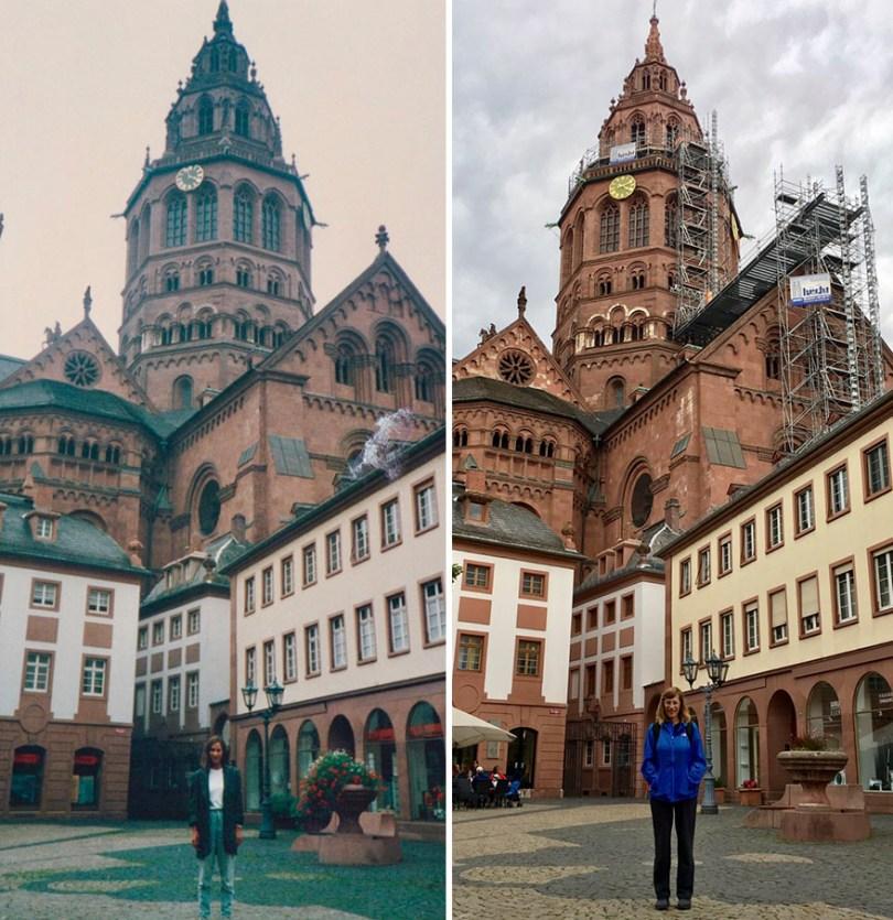 Trinta anos depois, em Mainz, Alemanha