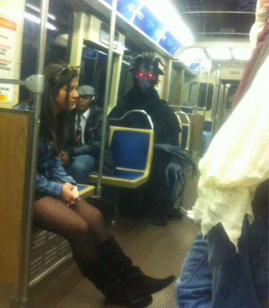 This Is Why I Don't Ride Public Transportation