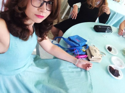 Went To A Party Wearing A Dress That Perfectly Matches The Tablecloths