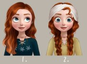 imagined disney princess hairdos