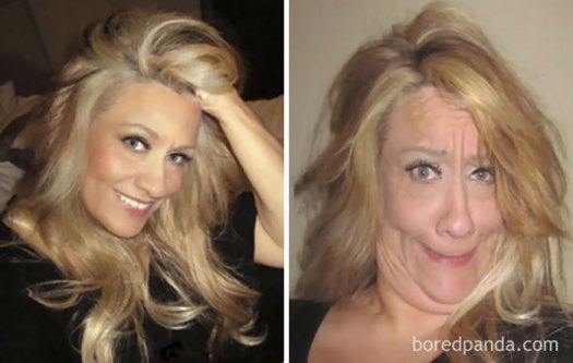 How I Think I Look Vs. How I Really Look