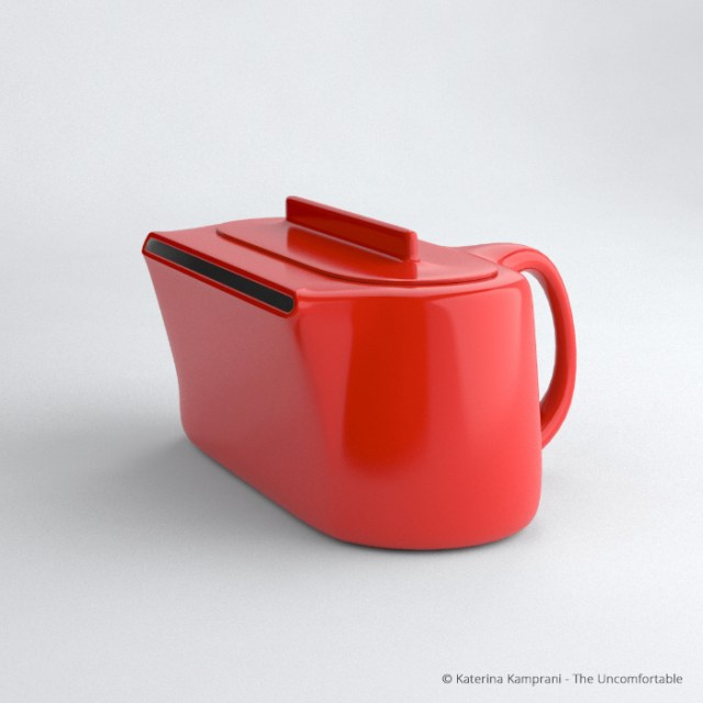 The Uncomfortable Teapot