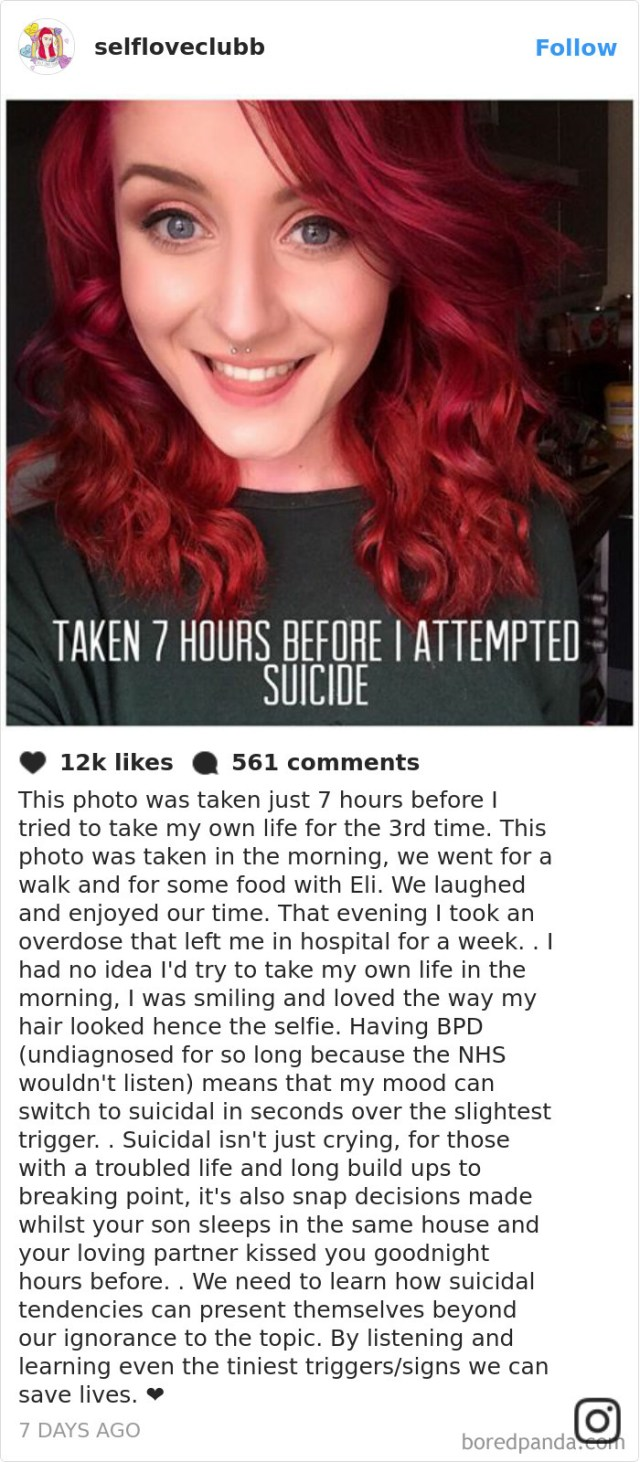 10+ Photos That Prove Depression Has No Face