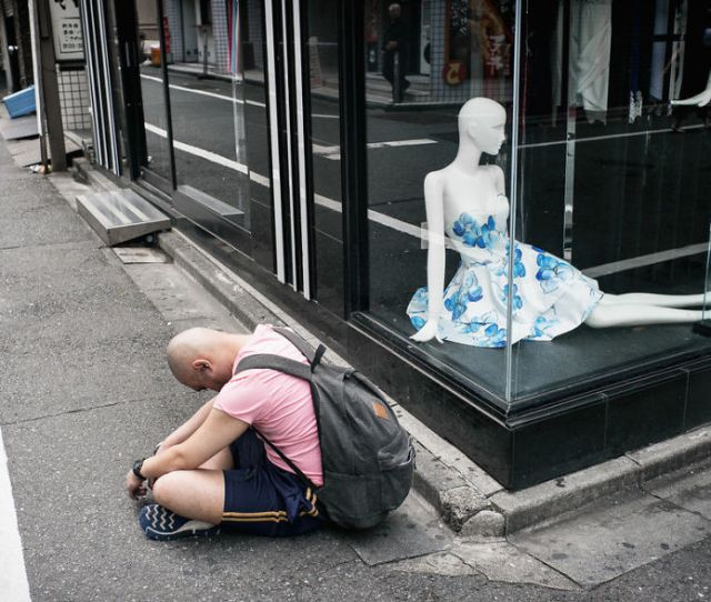20 Shocking Photos Of Drunk Japanese By Lee Chapman Show The Ugly Side Of Drinking Bored Panda