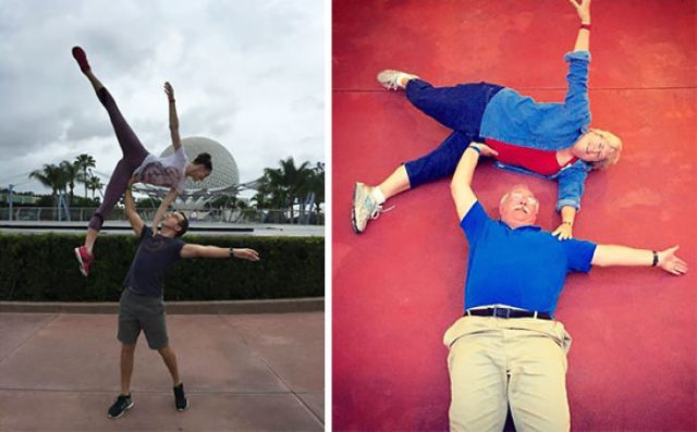 Mi amigo fue a Disney world y publicó ésta foto, sus progenitores respondieron así
