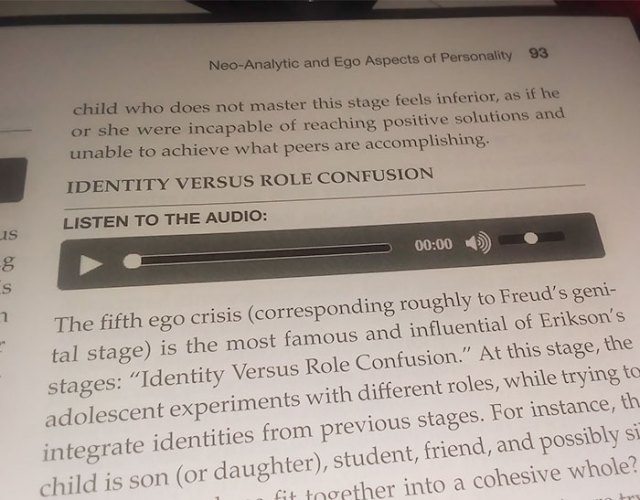 Professor, I Can't Get These Audio Files In Our Textbook To Play