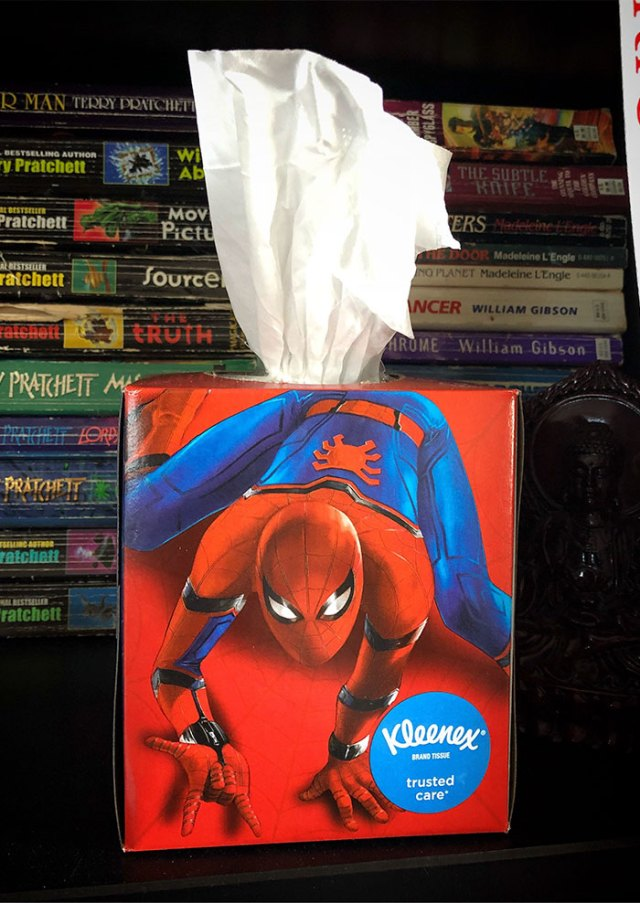 Pulling Tissues From This Box Feels... Uncomfortable