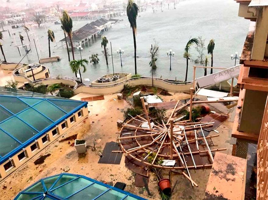 The Grand Case Beach Club In St. Martin After Hurricane Irma