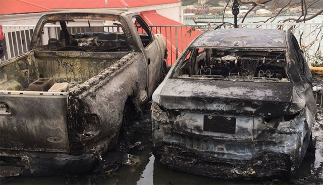 Irma Ruined This Vehicles In St. Thomas