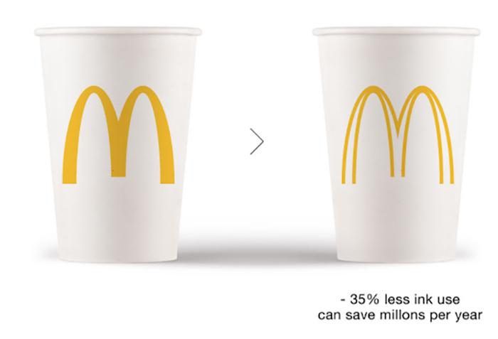 """less ink ecobranding logo design 1 59bf73c660f92  700 - Logos mais suaves estão na """"moda"""""""