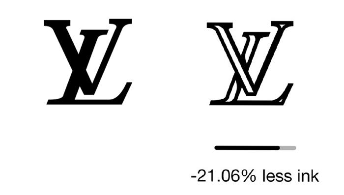 """less ink ecobranding logo design 9 59bf73c2605b9  700 - Logos mais suaves estão na """"moda"""""""