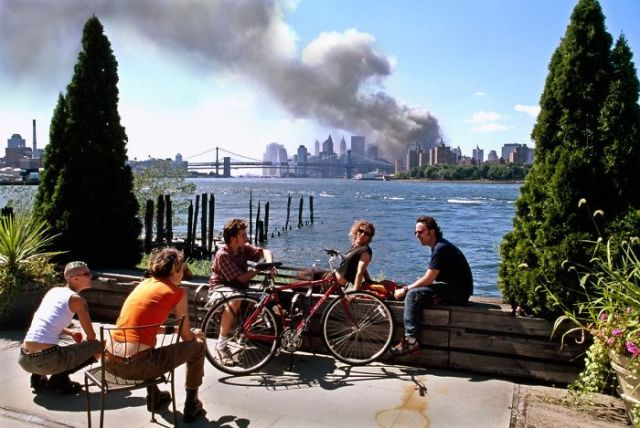 The Photographer Considered This 9/11 Brooklyn Scene Too Tranquil At The Time. He Decided Not To Publish The Image Widely Until Four Years After The Attacks