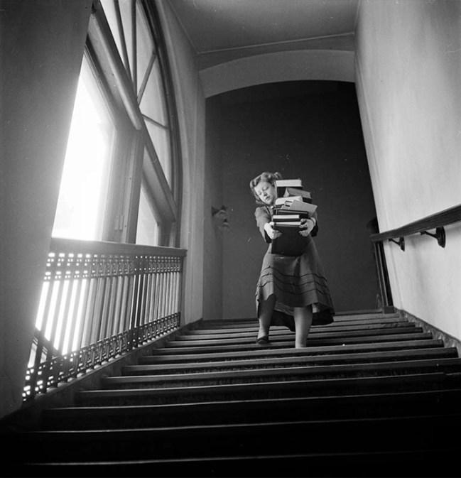 Student At Columbia University, 1948