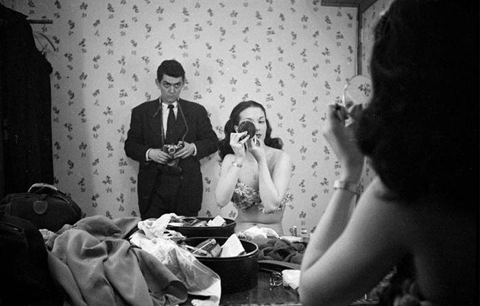 Self Portrait With Showgirl Rosemary Williams, 1948