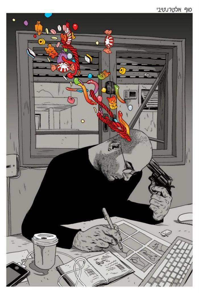 Satirical-Comics-The-Realist-Asaf-Hanuka