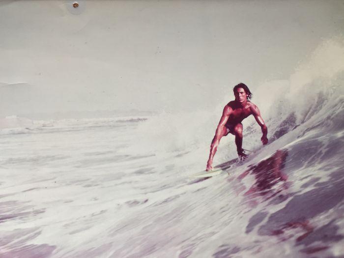 My Dad, Taken For Surfer Magazine. Peru, 1977