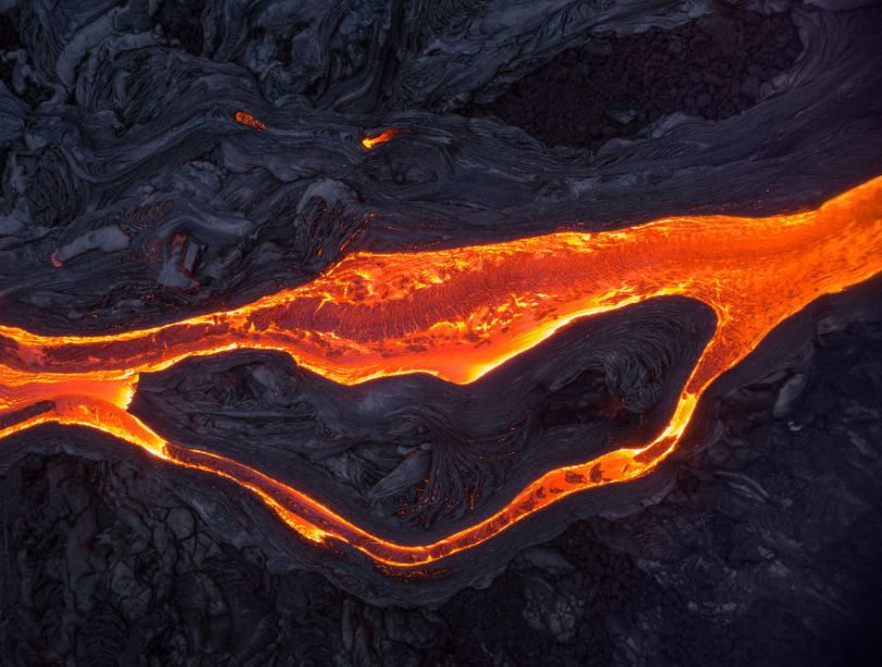I melted my drone camera flying to close to the lava flows of mount Kilauea Hawaii 59f8c876873f8  880 - Fotógrafo chega muito perto de lava com o seu Drone