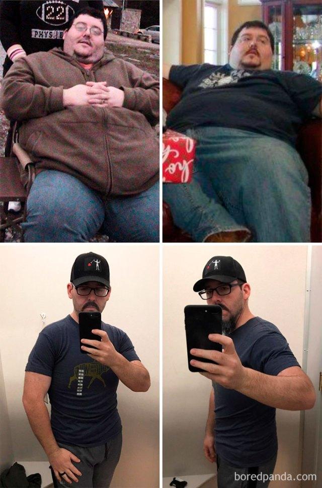 He logrado perder 133 kilogramos en la última década