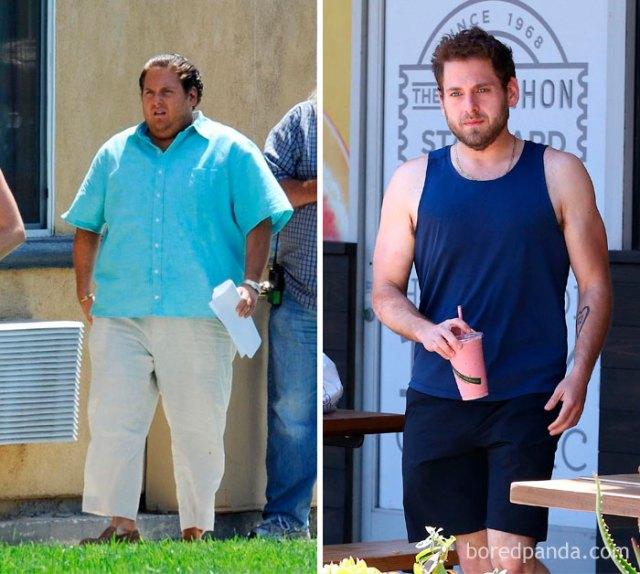 El actor Jonah Hill tras lograr perder peso