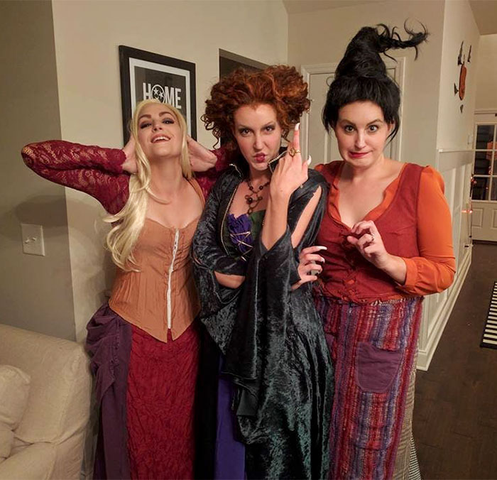 My Sister-In-Law And Her Sisters This Halloween