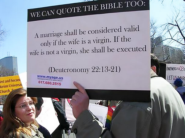 Everybody Can Quote The Bible