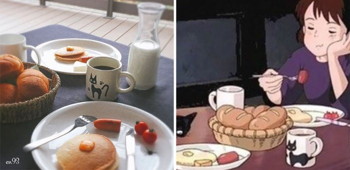 Pancakes From Kiki's Delivery Service