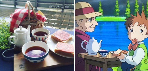 Tea Party From Howl's Moving Castle