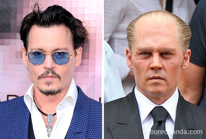 Johnny Depp - James's Whitey 'Bulger (Missa Negra)