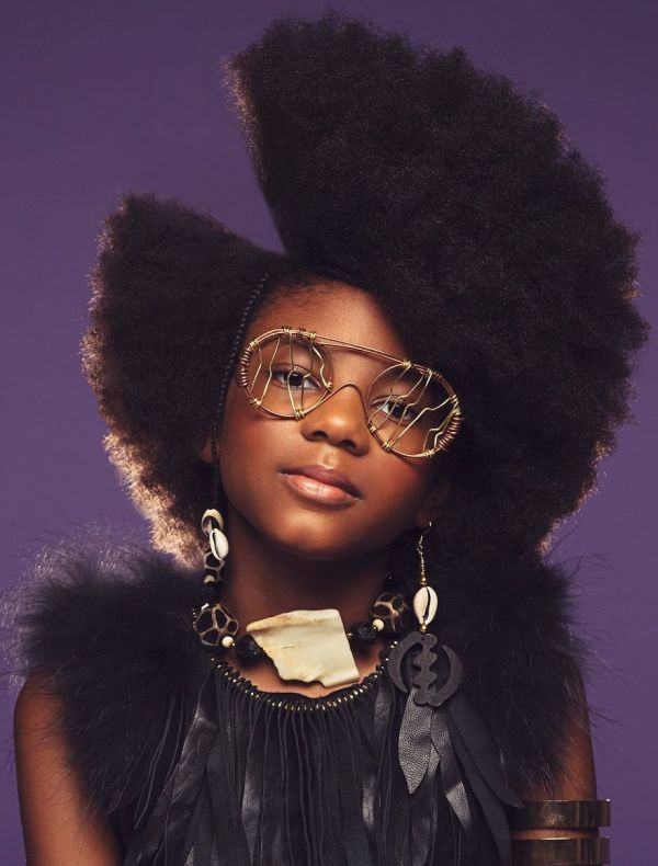 Baroque-inspired Portraits Of Black Girls Highlight