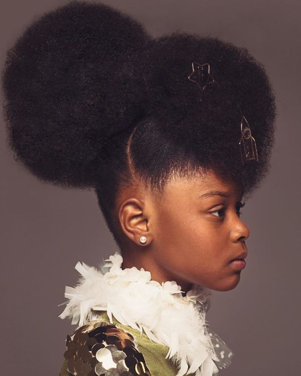 Baroque-inspired Portraits Of Black Girls Highlight Amazing Natural Hair