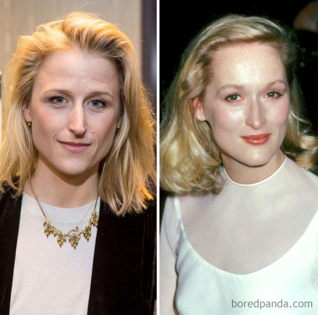 Mamie Gunner y Meryl Streep a los treintaitantos