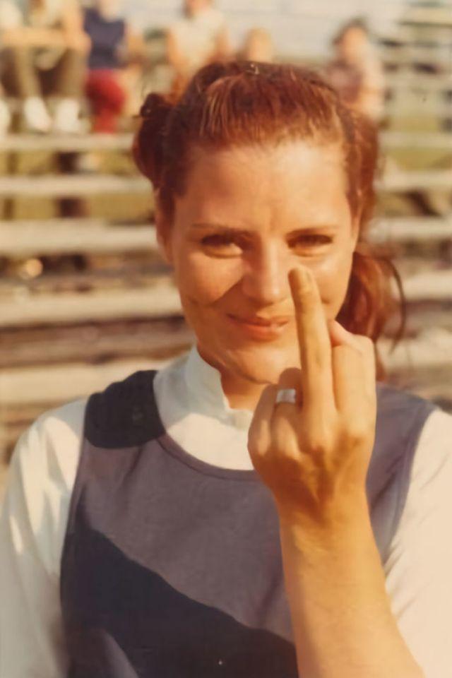 Mi Abuela. Esta Foto Estaba Al Lado De Su Ataúd En Su Funeral (Finales De Los 60s O Principios De Los 70s)