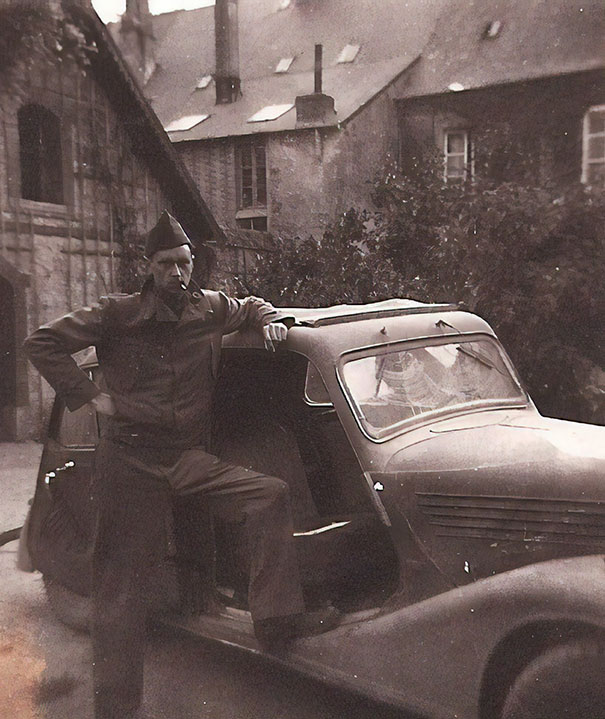 WW2 - My Badass Grandpa With A Car He Stole From Nazis