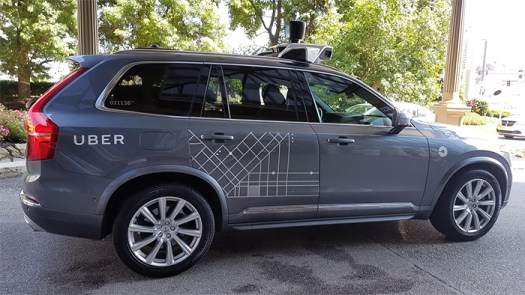 Today A Self Driving Uber Picked Me Up