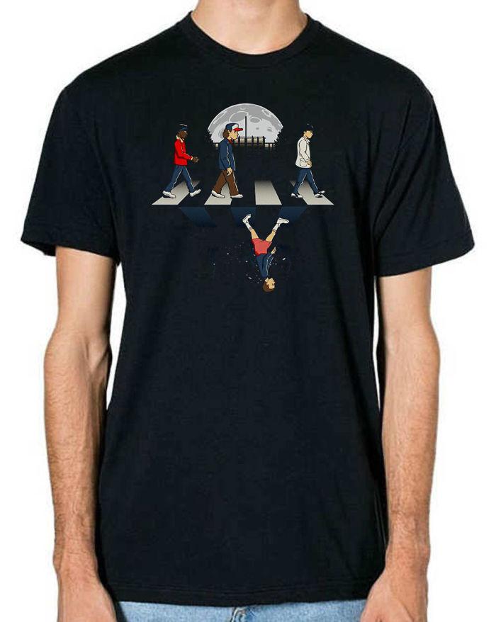 Stranger Things Upside Down Road T-Shirt