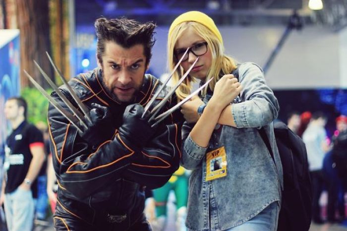 Wolverine At Comic Con Russia. Yes This Is A Cosplay
