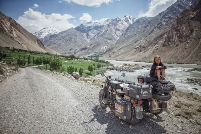 The Wakhan Corridor In Tajikistan