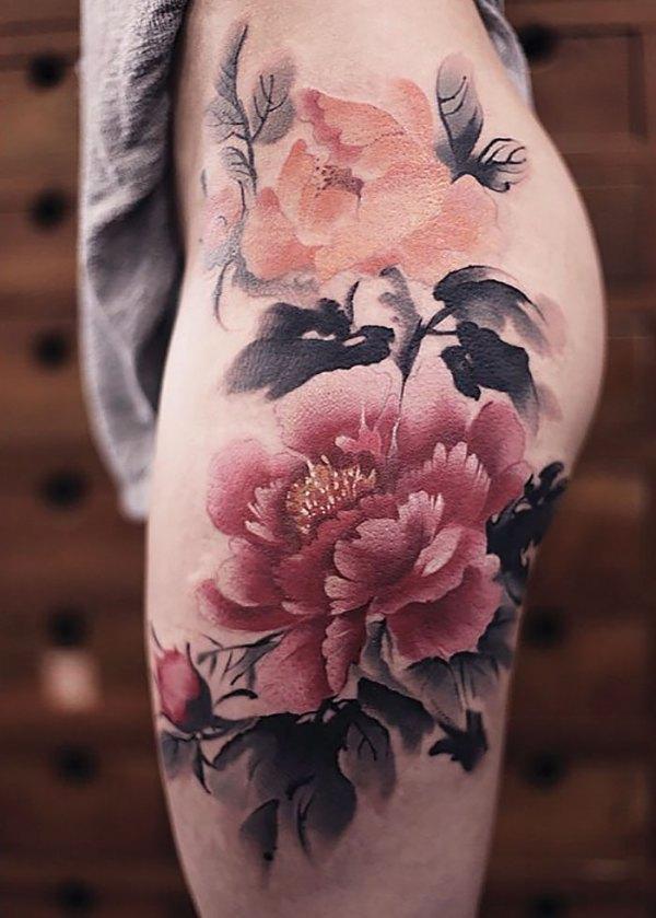 watercolor tattoos chen