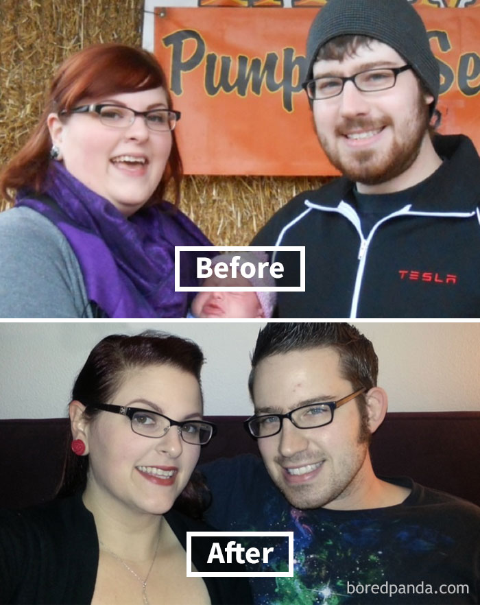Face Weight Loss Before And After : weight, before, after, Amazing, Before, After, Reveal, Weight, Changes, Bored, Panda