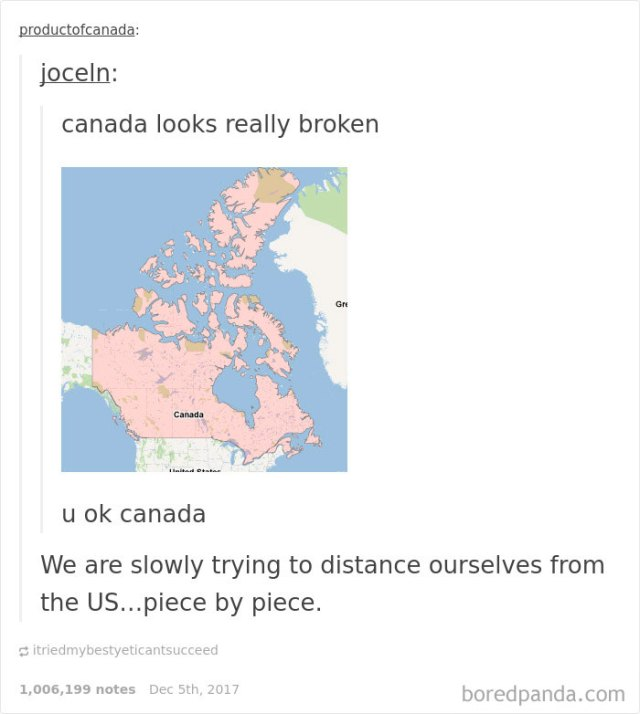 30 times canadians were a complete mystery to the rest of the read more http boredpanda funny canada jokes memes tumblr atagend gumiabroncs Gallery