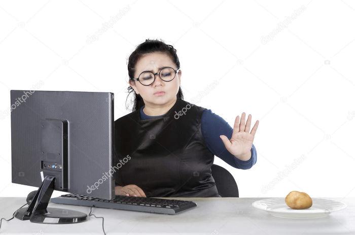 No Potatoes While I'm Working Please
